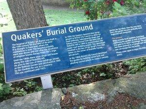 quakers burial ground