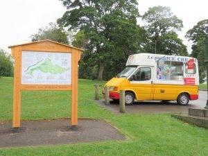 clifton downs ice cream van