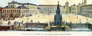 Jean Baptiste Debret's etching of Praça XV