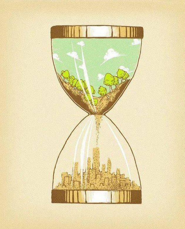 banksy hourglass