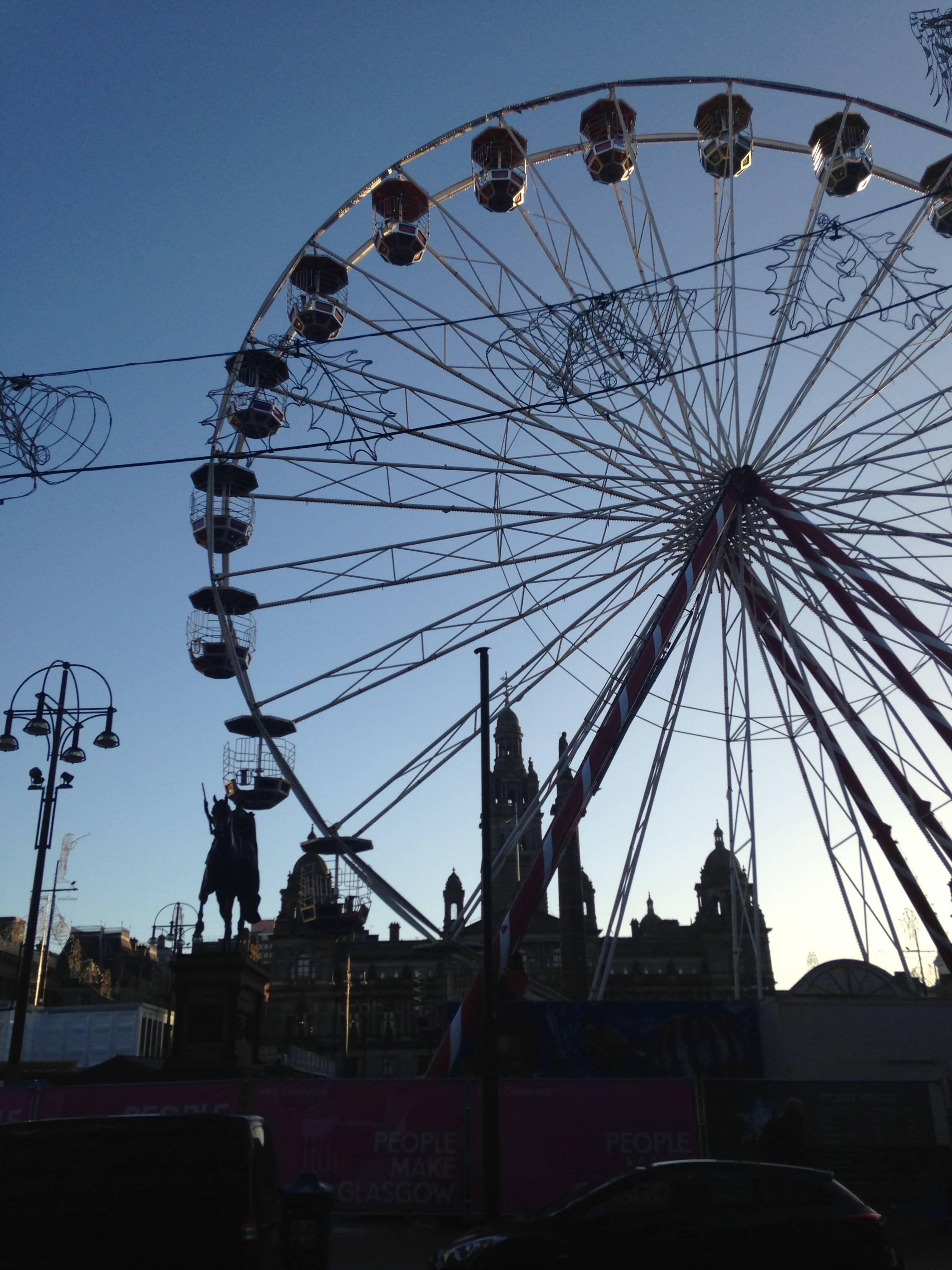 george square christmas market