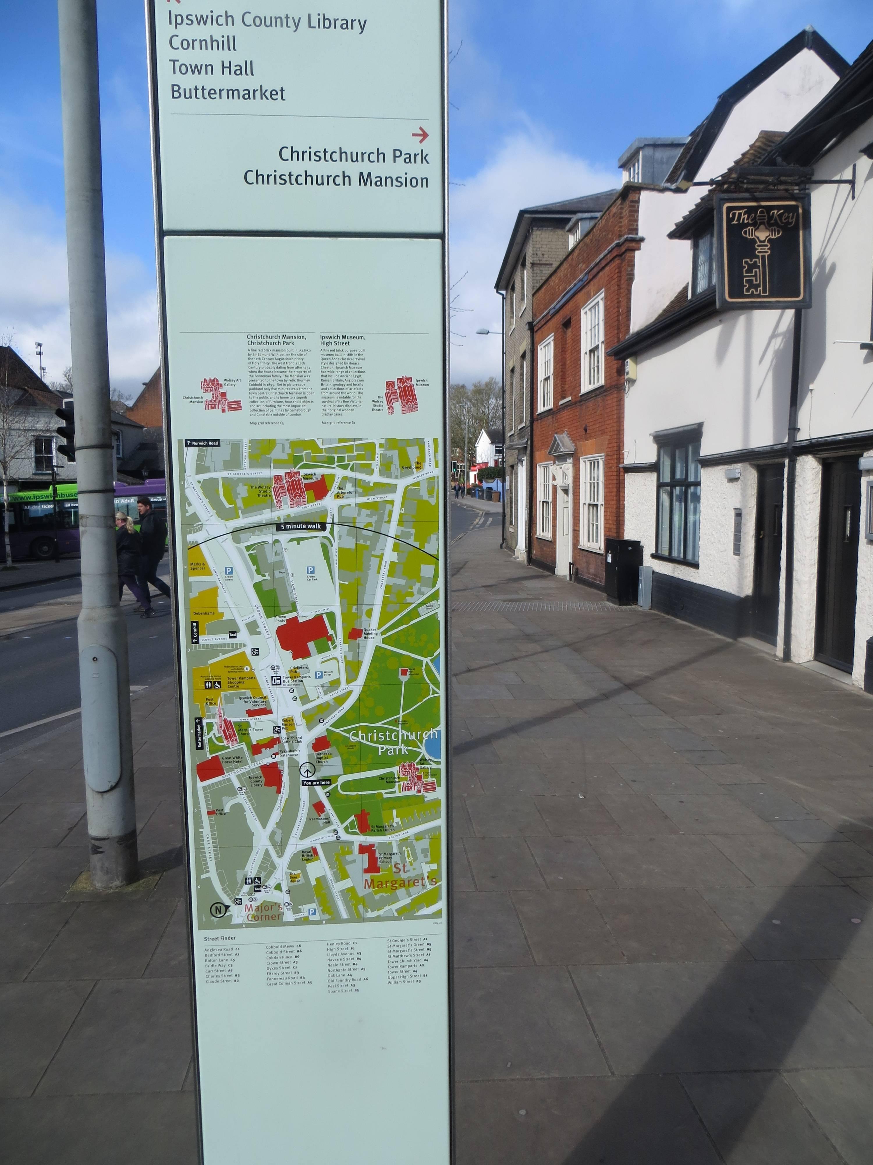 ipswich street maps
